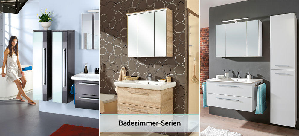 Badezimmer-Serien - im Einrichtungshaus