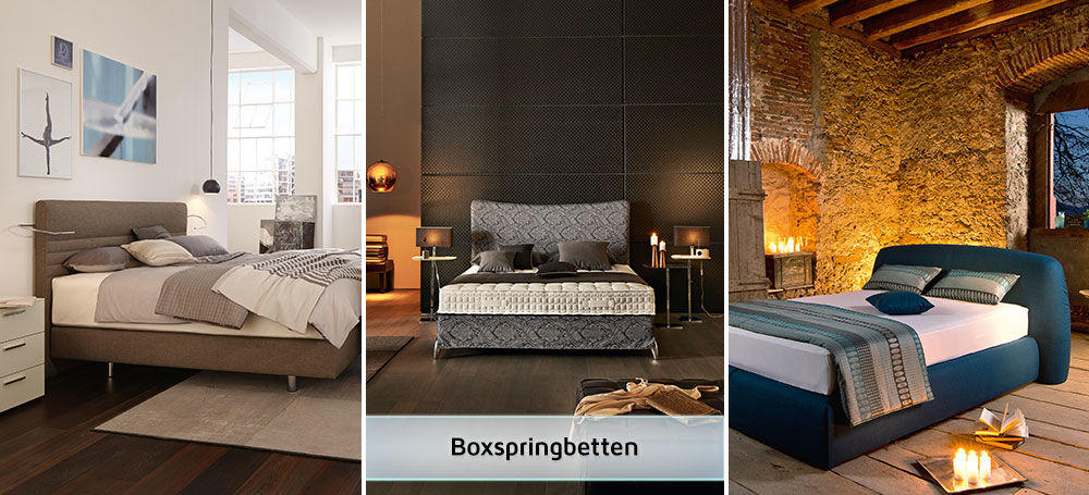 boxspringbetten in ihrem segm ller einrichtungshaus. Black Bedroom Furniture Sets. Home Design Ideas