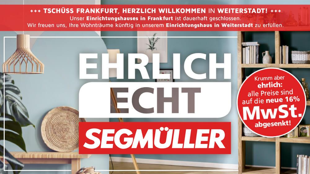 Schliessung der Filiale Frankfurt